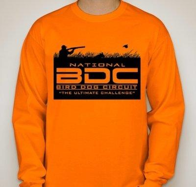 Orange BDC Long Sleeve T-Shirt