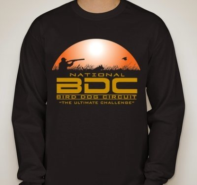 Black BDC Long Sleeve T-Shirt
