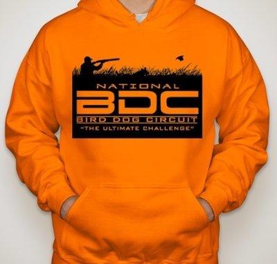 Orange BDC Hooded Sweatshirt