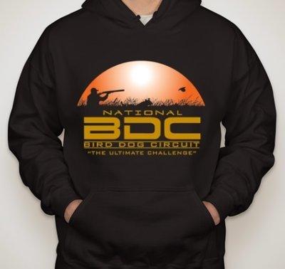 Black BDC Hooded Sweatshirt