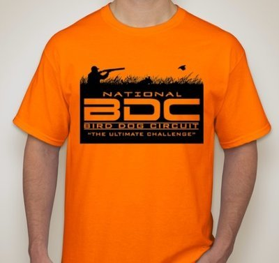 BDC Orange Short Sleeve T-Shirt