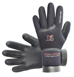XS Scuba 5mm Dry Five Gloves