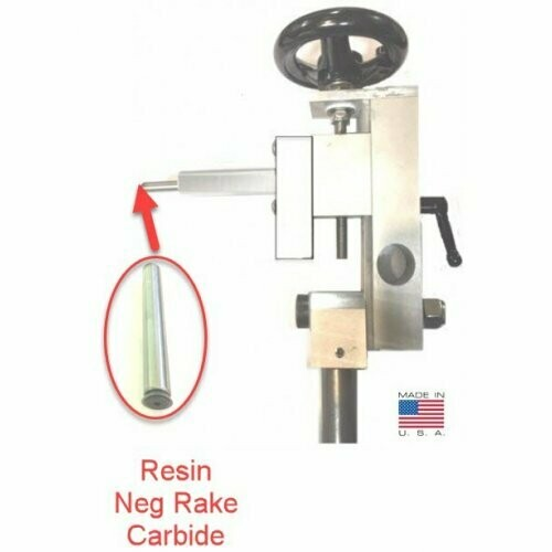 EZ Sphere COMBO Jig with Easy Wood Tools Negative Rake Carbide Cutter - Cut a perfect sphere or create wooden threads with an add-on kit