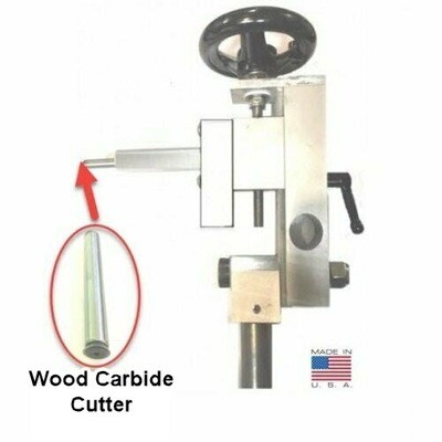 EZ Sphere COMBO Jig with Carbide Cutter for Wood - Cut a perfect sphere and or create wooden threads with an add-on kit