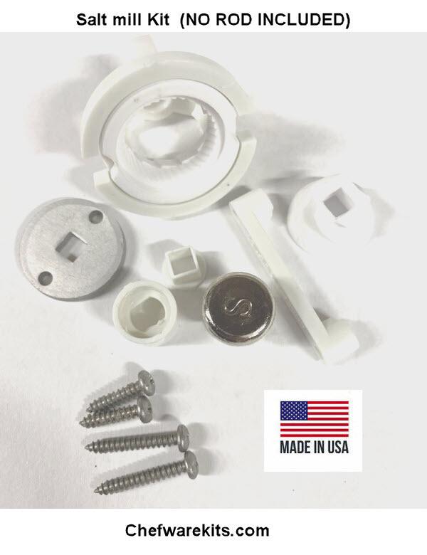 Salt mill Mechanism NO ROD INCLUDED (USA) Woodturning Kit
