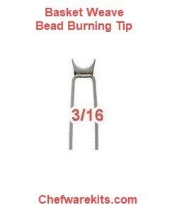 """Basket Weave Illusion 3/16"""" Burning Tip"""