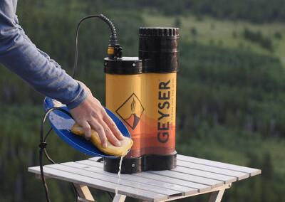 Geyser Heated Portable Shower