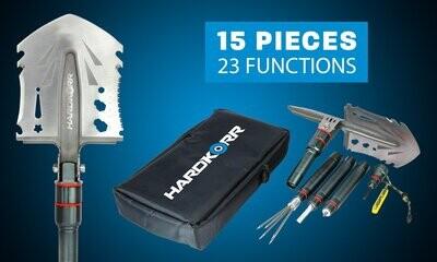 Hard Korr 15 Piece Multi - Tool Shovel