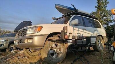 Tailgater Tire Table - Aluminum