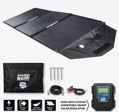 Hard Korr 150W Portable Solar Panel