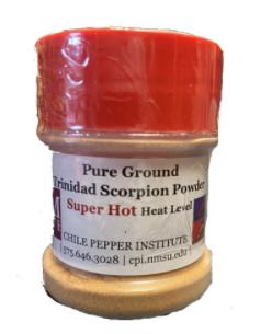 Ground Trinidad Moruga Scorpion Powder