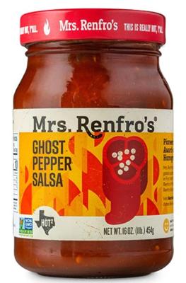 Mrs. Renfro's Ghost Pepper Salsa