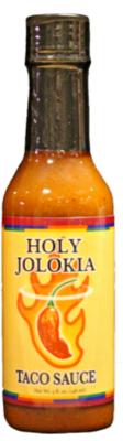 Holy Jolokia Taco Sauce