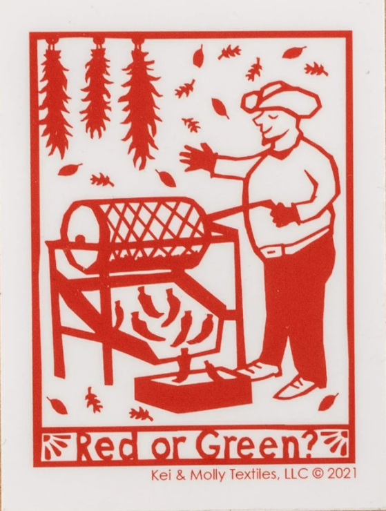 Chile Roaster Decal
