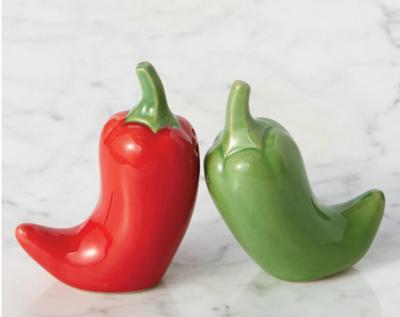 Chile Salt & Pepper Shakers