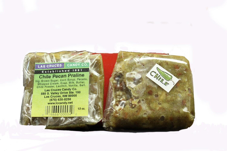 Green Chile Pecan Praline