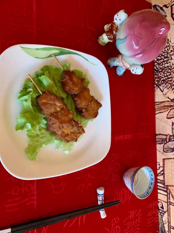 Brochette de poulet