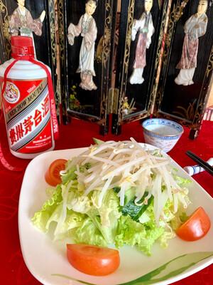 Salade chinoise au soja