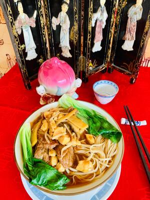 Bouillon de nouilles du Confucius