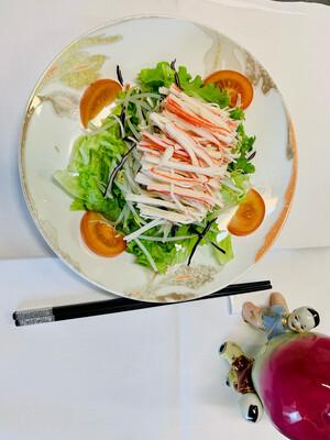 Salade de soja au crabe (surimi)