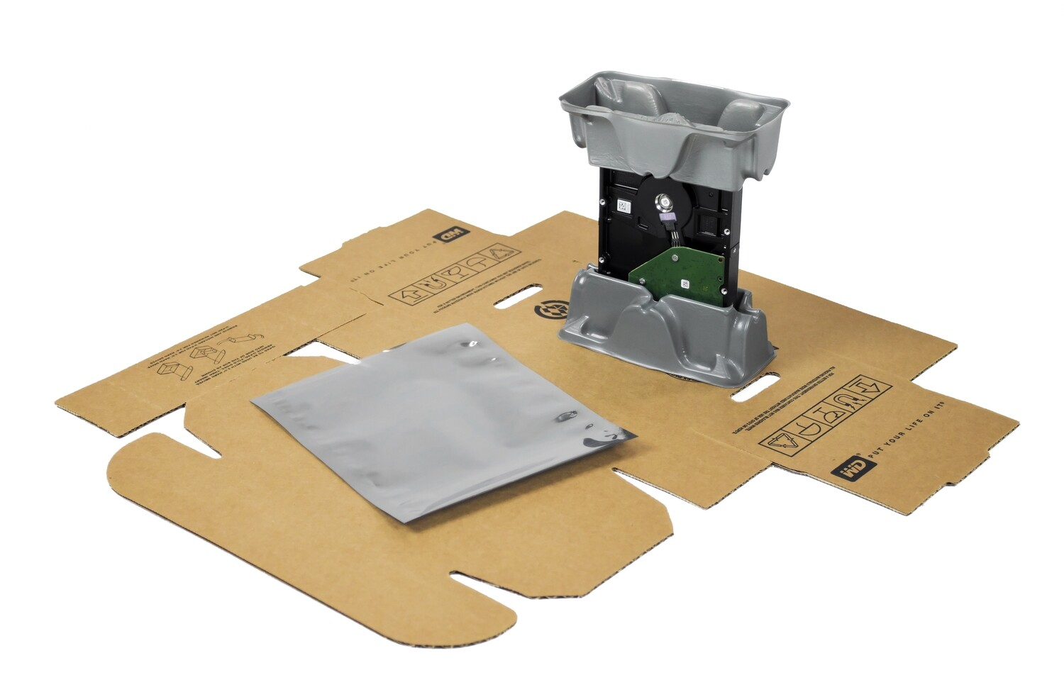 "3.5"" HDD Single Kit - Hard Drive Packaging"