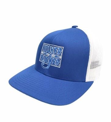 Blue n White Trucker Hat