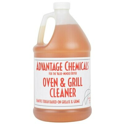 Grill Advantage Chemicals 1 Gallon Oven and Grill Cleaner