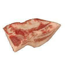Pork Jowls Skinless Bulk Pack 10lb avg cs Hickory Nut Gap Farms priced per lb