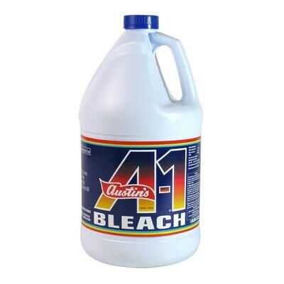 Bleach James Austin's A-1 1 Gallon / 128 oz. Bleach - 6 each