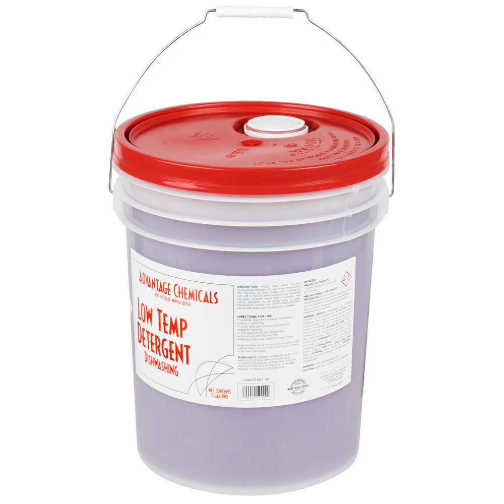 Dish Advantage Chemicals 5 gallon / 640 oz. Low Temperature Dish Washing Machine Detergent