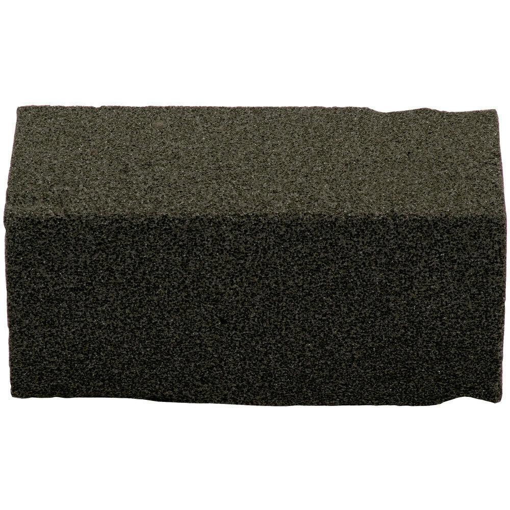 "Grill Brick Scrubble by ACS GB12-TSH 8"" x 4"" x 3 1/2"" Grill Brick - 12/Case"