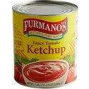 Ketchup Furmano's #10 Can Fancy Grade Ketchup - 6/Case