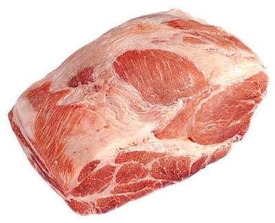 Pork 4#-2pc Boston Butt per lb 75lb avg priced per lb