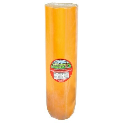 Cheese Gouda Traditional Delights Hickory Smoked Gouda Cheese 6 lb. Roll - 2/Case