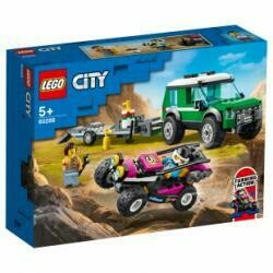 Lego City transporteur de buggy racing