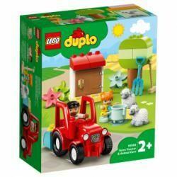 Lego Duplo tracteur et soins des animaux