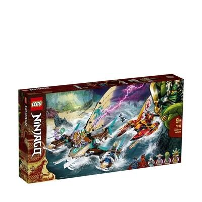 Lego Ninjago la bataille de catamarans