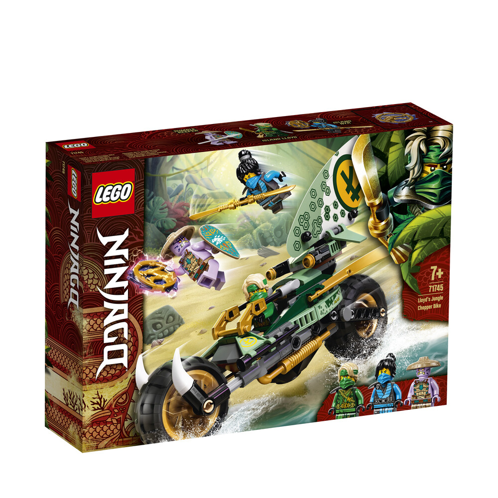 Lego Ninjago le vélo de la jungle de Lloyd