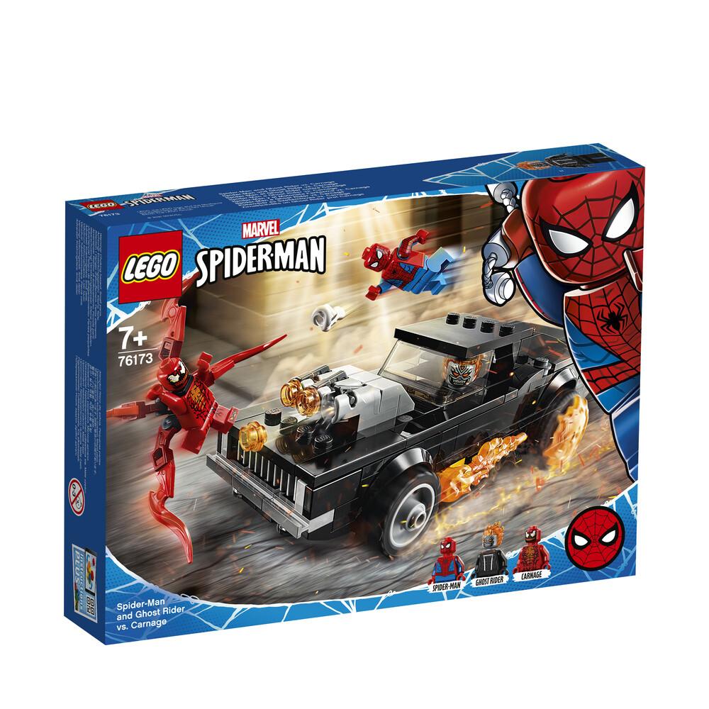Lego Marvel Spiderman et Ghost Rider contre Carnage