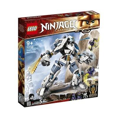 Lego Ninjago le robot de combat Titan de Zane