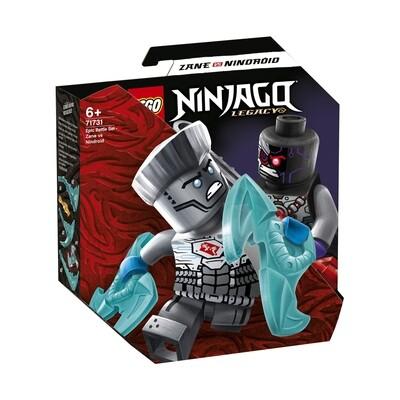 Lego Ninjago set de bataille épique-Zane contre Nindroïde