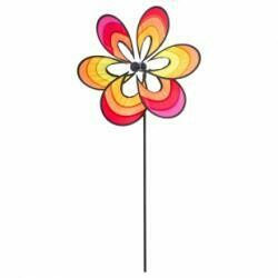 Éolienne illusion de fleur
