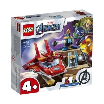 Lego Marvel Super Heroes Iron Man contre Thanos