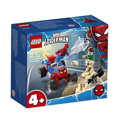 Lego Marvel Super Heroes le duel entre Spiderman et Sandman