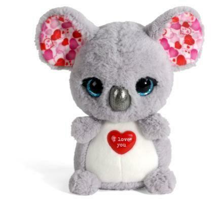 Koala peluche Nici 16 cm I love You