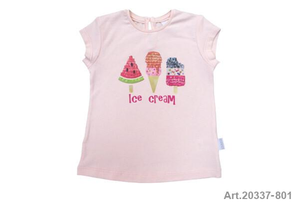 Tee shirt saumon imp. Ice Cream Stummer