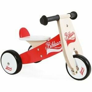 Little Bikloon vélo-porteur en bois Janod