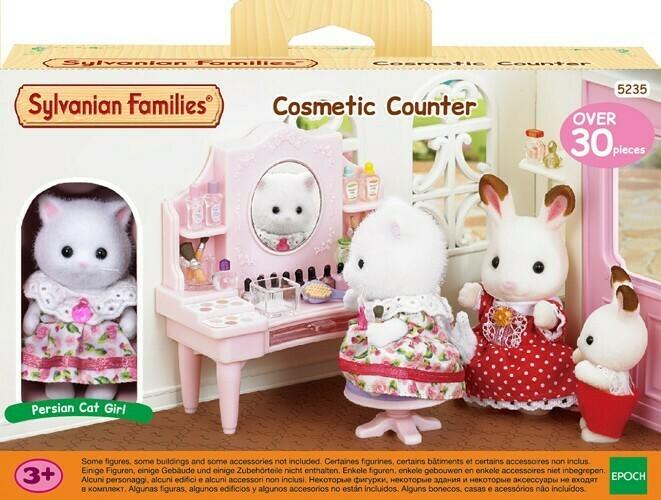 Sylvanian Families Cosmetic Counter