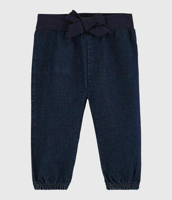 Pantalon jeans molletonné Petit Bateau