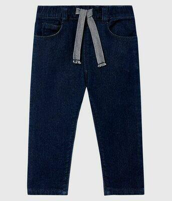 Pantalon jeans denim molletonné Petit Bateau